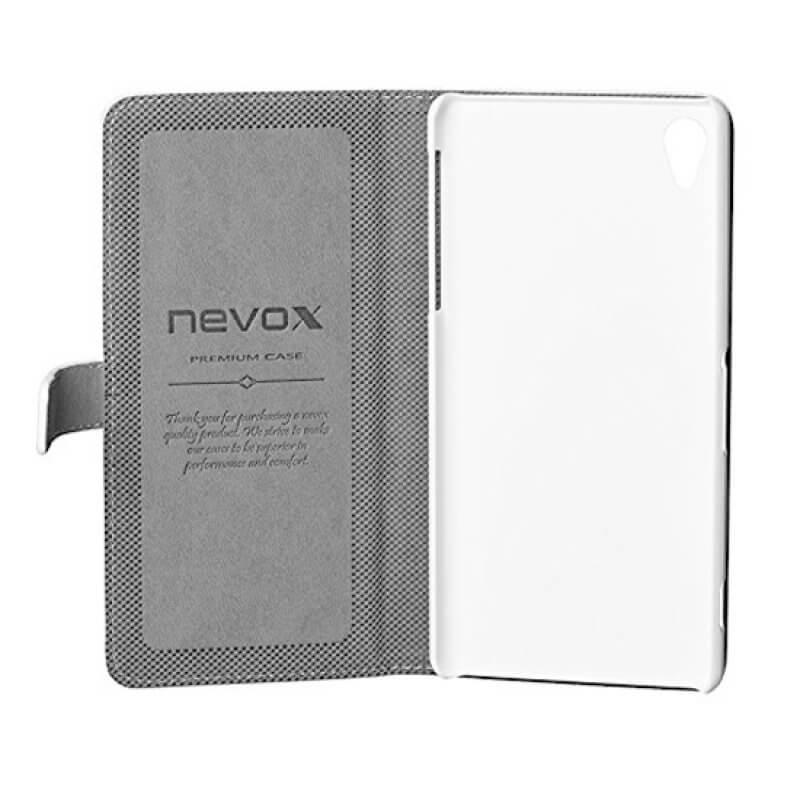 Capa Flip Cover Nevox Sony Z2 - Branco