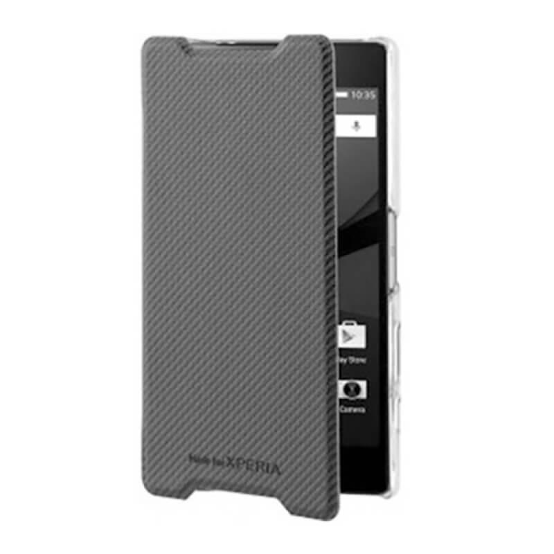 Flip Cover Roxfit Sony Xperia Z5 Compact Preto