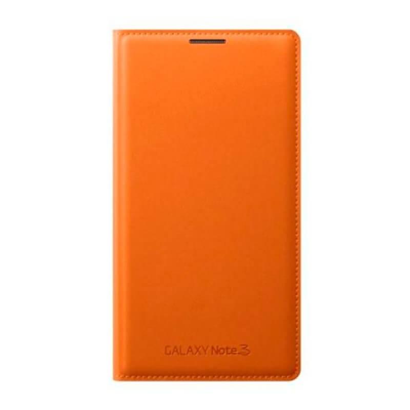 Flip Cover Samsung Note 3 N9005 - Laranja