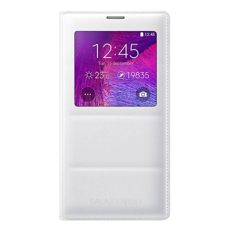 Flip Cover Samsung Note 4 N910 - Branco