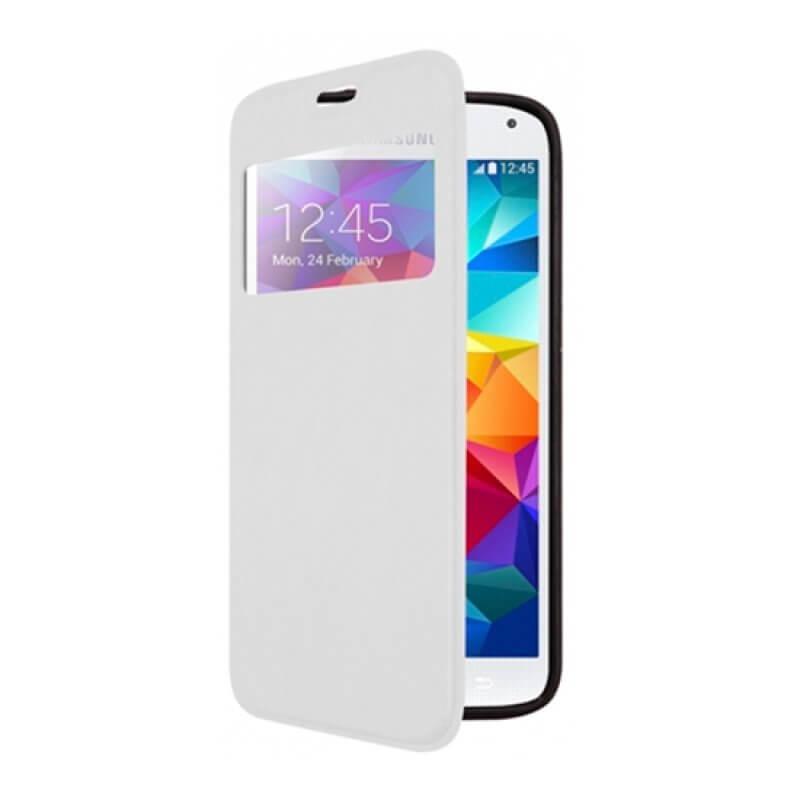 Flip Cover Samsung S5 G900 - Branco