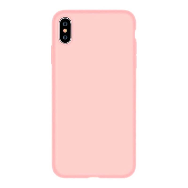 Capa Silicone Nature Devia iPhone Xs Max - Rosa
