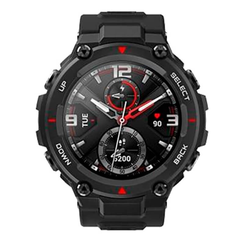 Smartwatch Amazfit T-Rex Preto
