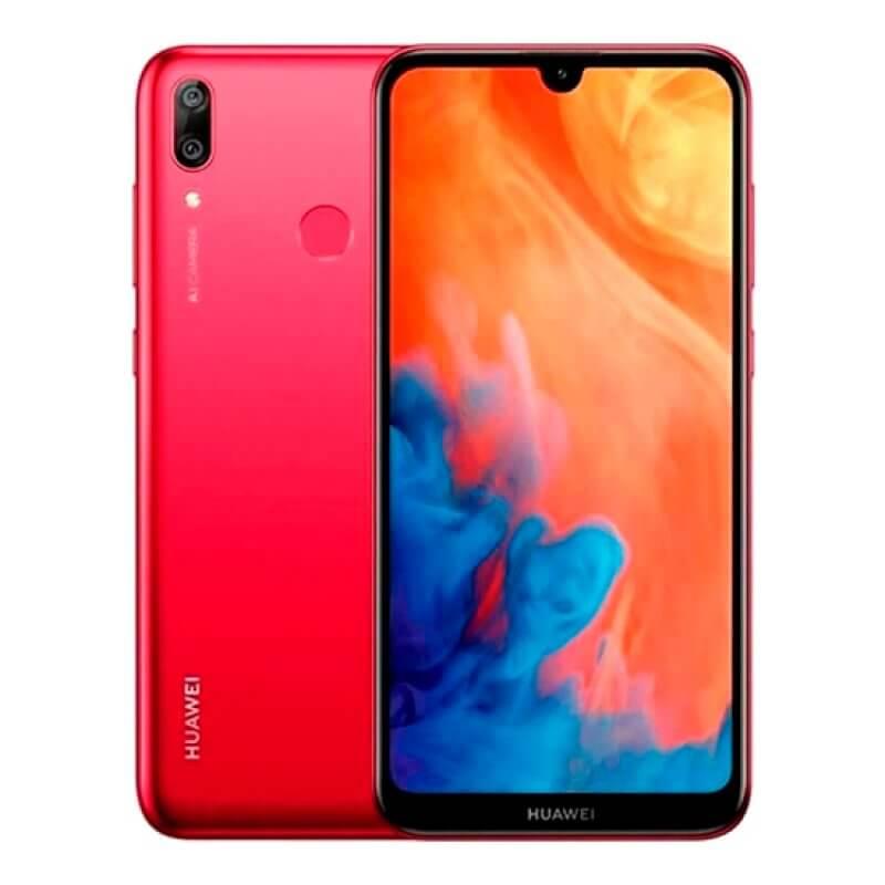 Huawei Y7 2019 3GB/32GB Dual Sim - Vermelho