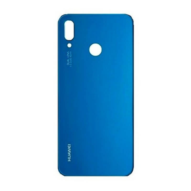 Tampa bateria Huawei P20 Lite - Azul