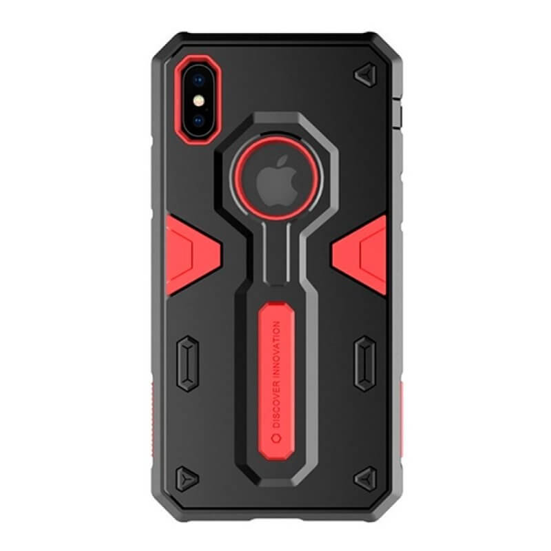 Capa Nillkin Defender Apple iPhone Xs Max - Vermelho