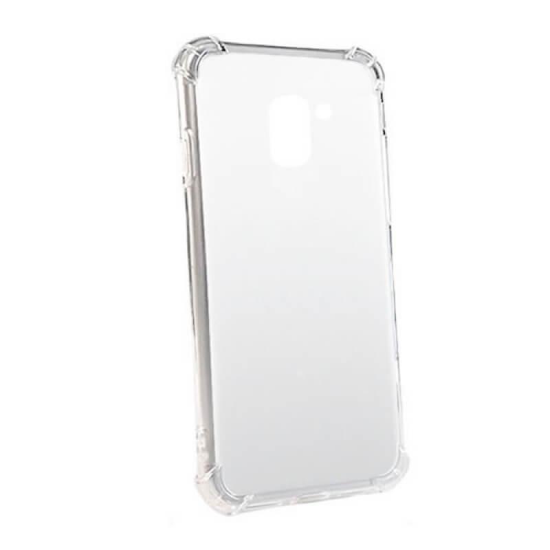Capa silicone anti shock Samsung Galaxy A6 plus - Transparente