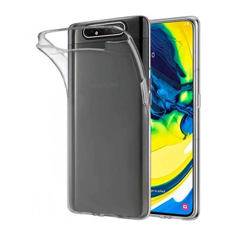 Capa Silicone Samsung A80 A805 - Transparente