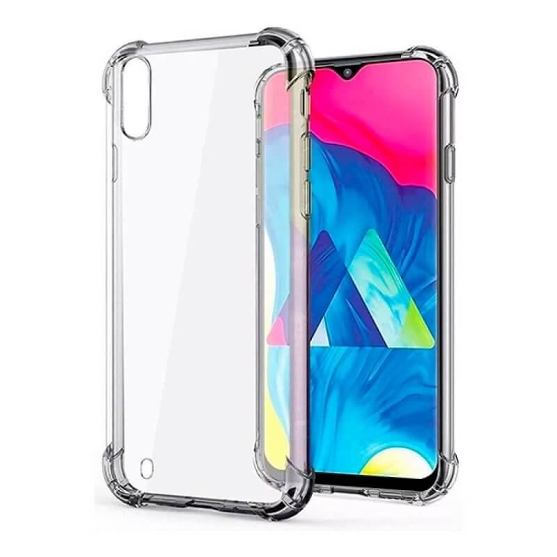 Capa silicone anti choque Samsung Galaxy A10 A105 - Transparente