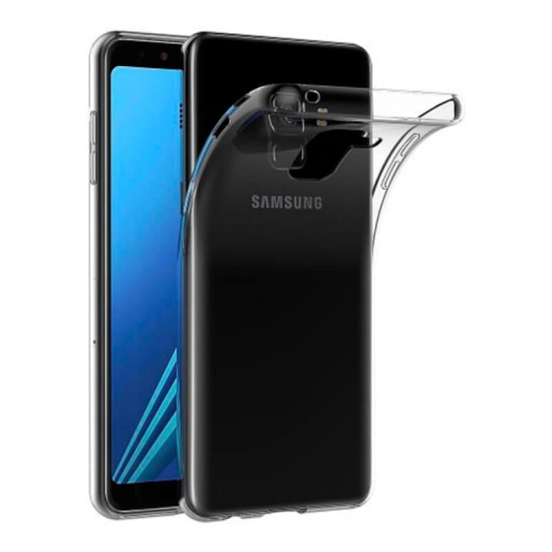 Capa silicone Samsung Galaxy A8 A530 - Transparente