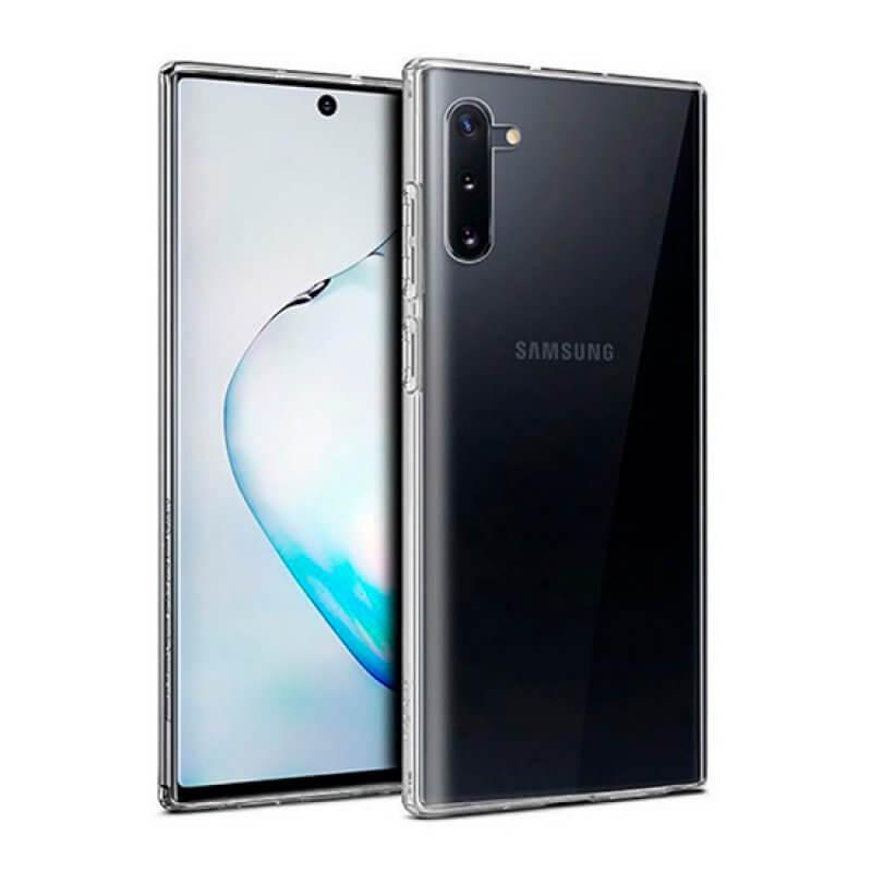 Capa silicone Samsung  Note 10 - Transparente