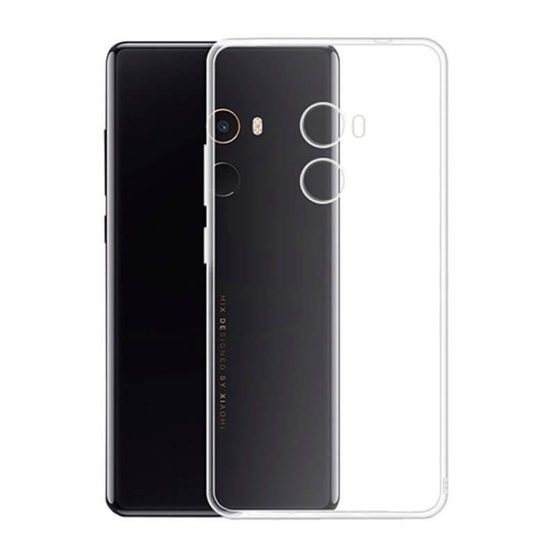 Capa silicone Xiaomi Mi Max 2 - Transparente