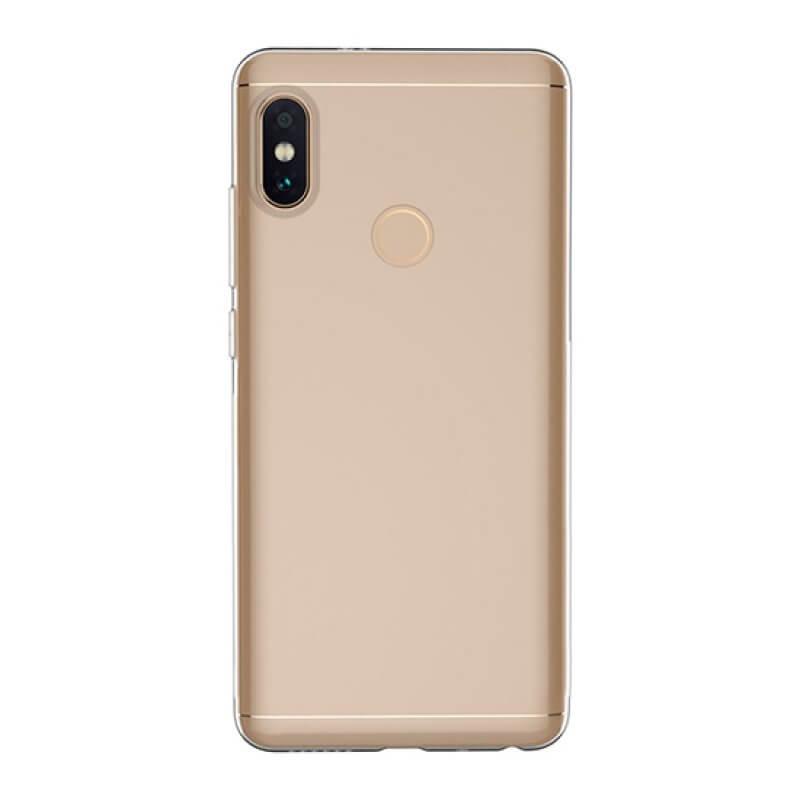 Capa silicone Xiaomi Redmi Note 5 - Transparente