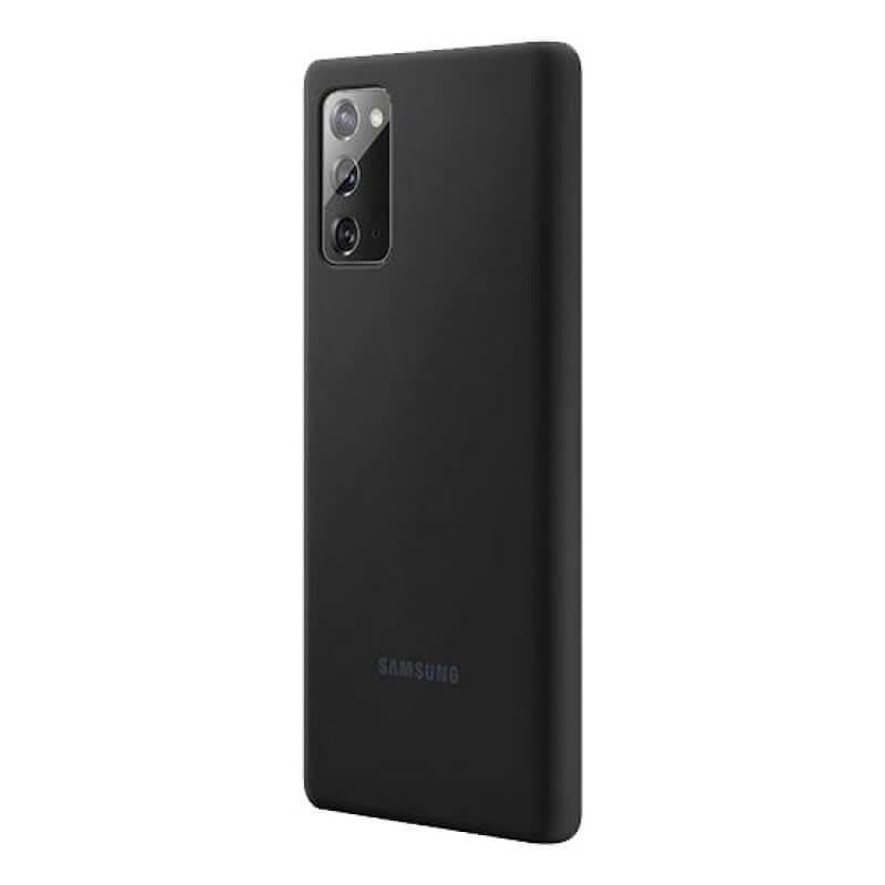Silicone Cover Samsung Galaxy Note 20 Ultra N985 N986 Preto