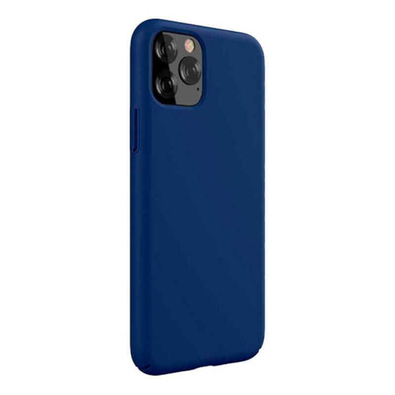 Capa Silicone Devia iPhone 11 Pro Max - Azul