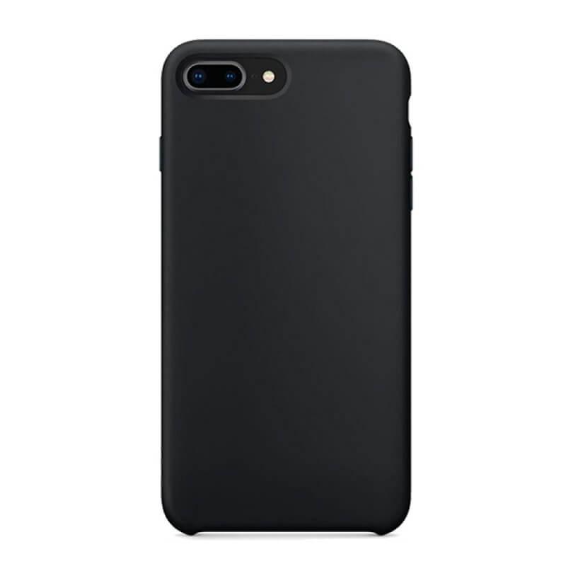 Capa silicone iPhone 6 Plus - Preto