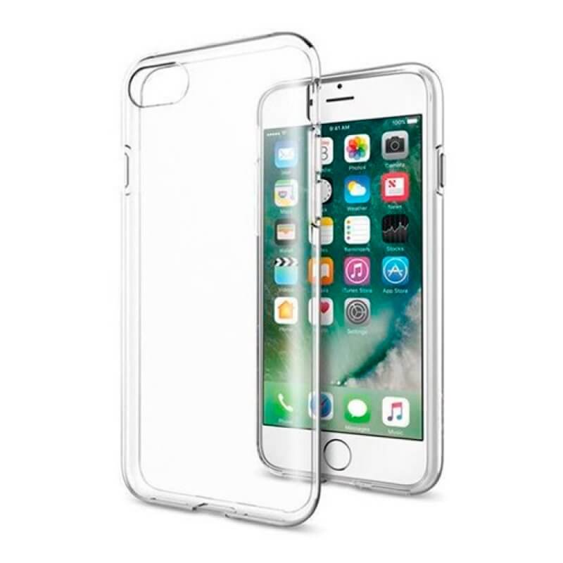 Capa silicone iPhone 7 Plus - Transparente