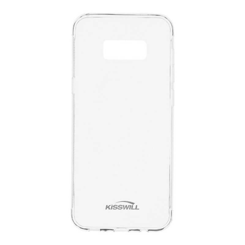 Capa silicone Kisswill Samsung S8 Plus G955 - Transparente