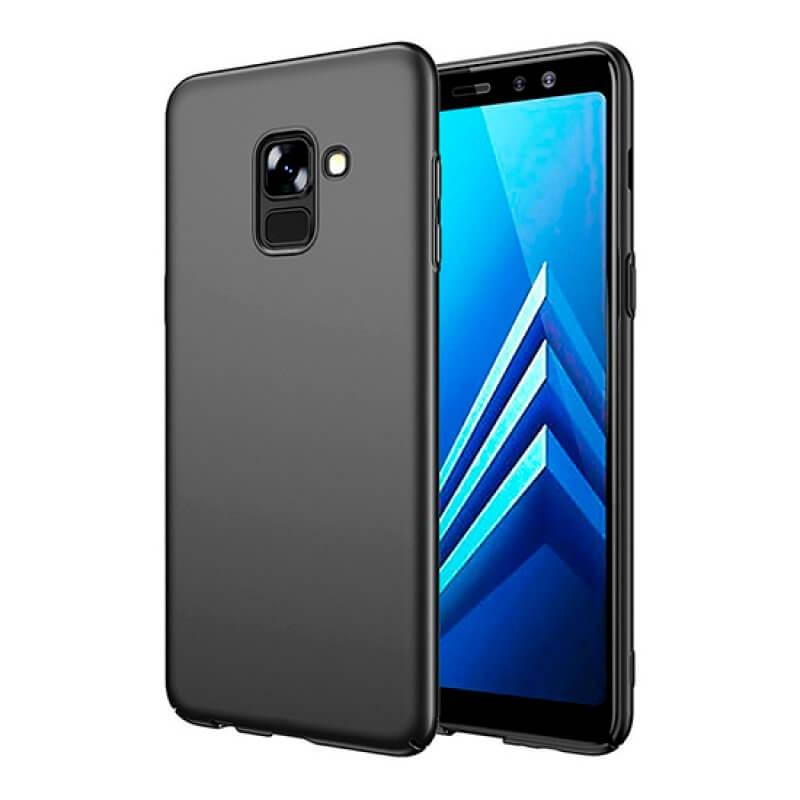 Capa silicone Samsung A6 Plus A605 - Preto