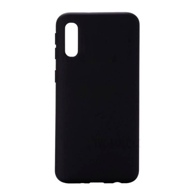 Capa Silicone Samsung Galaxy A30s - Preto