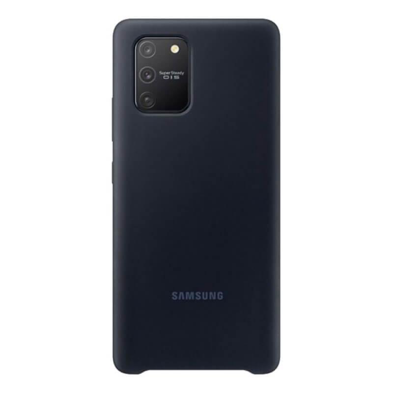Silicone Cover Samsung Galaxy S10 Lite G770 Preto