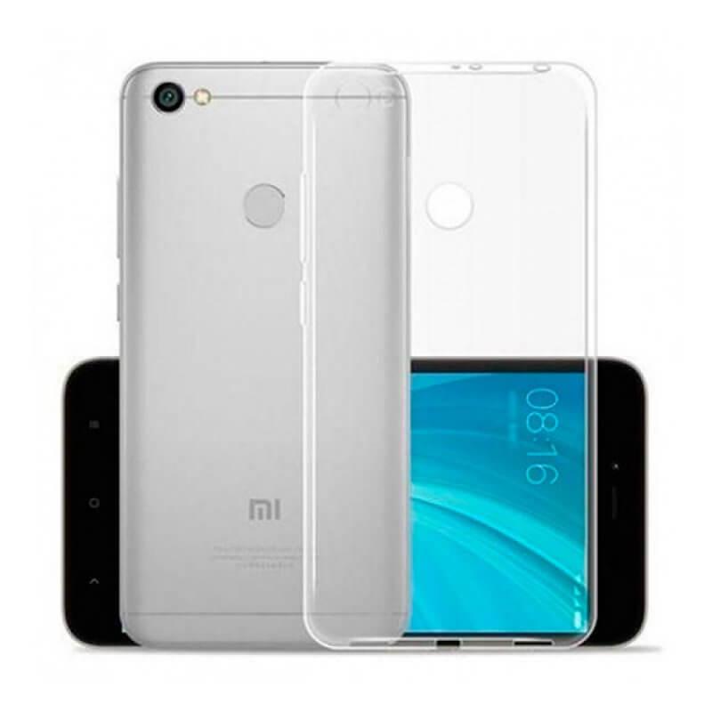 Capa silicone Xiaomi Redmi Note 5A Prime - Transparente
