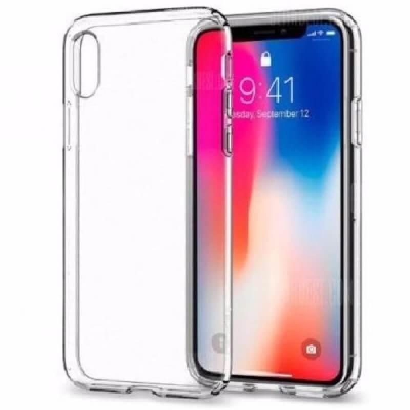Capa silicone iPhone X | Xs - Transparente