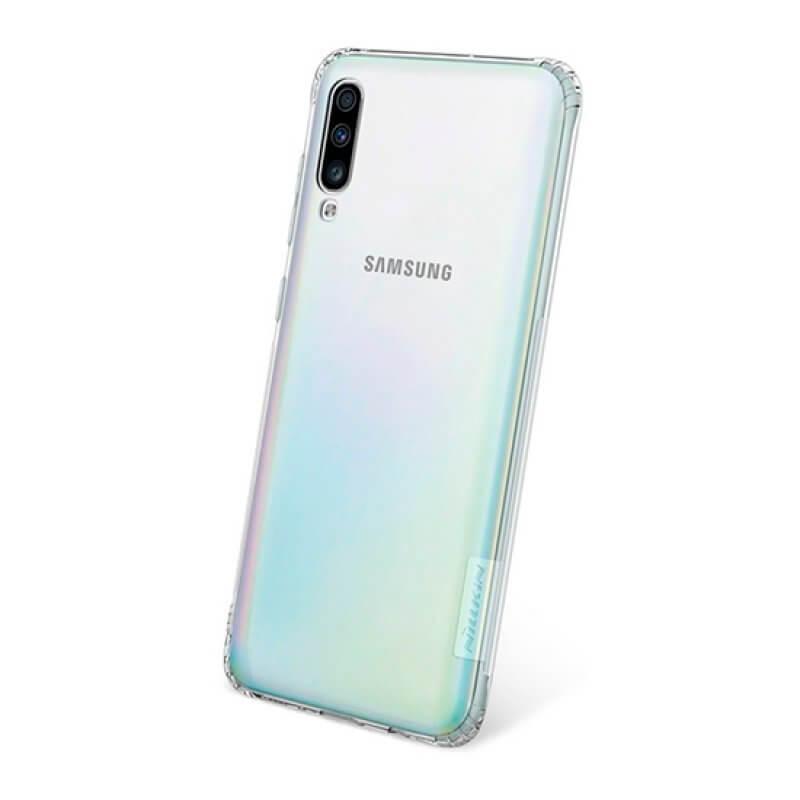 Case TPU Nature Samsung Galaxy A70 - Transparente