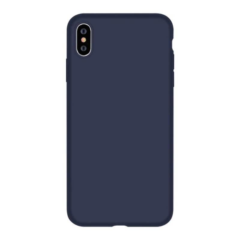 Case Silicone Nature Devia iPhone Xs Max - Night Blue
