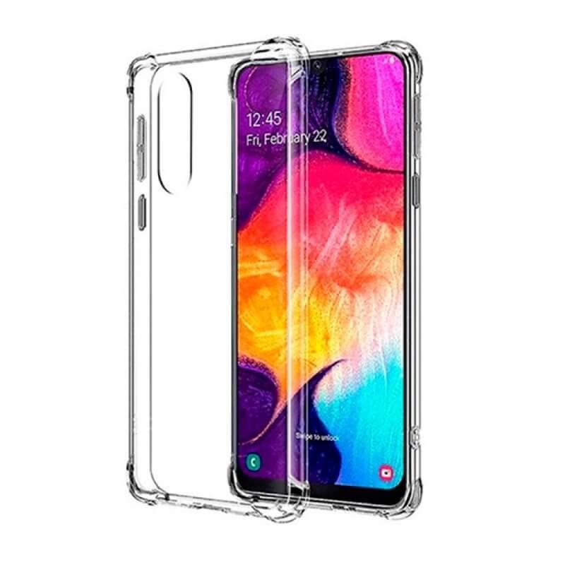 Capa silicone Samsung Galaxy A50 A505 - Transparente