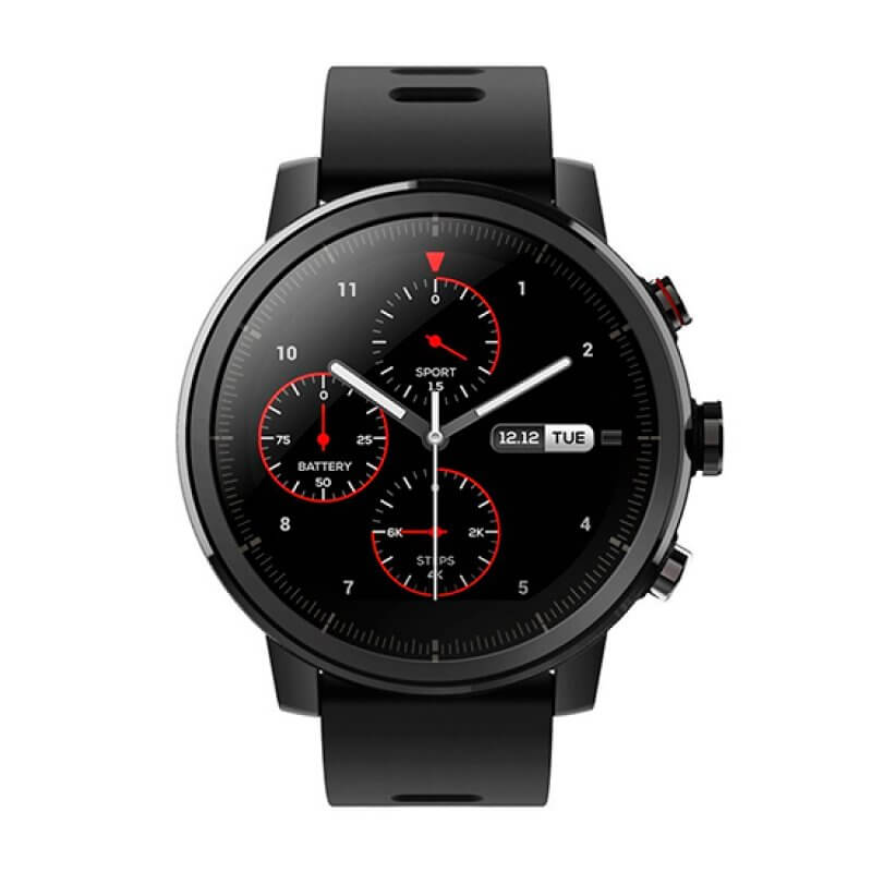 Smartwatch Amazfit Stratos 2 Preto