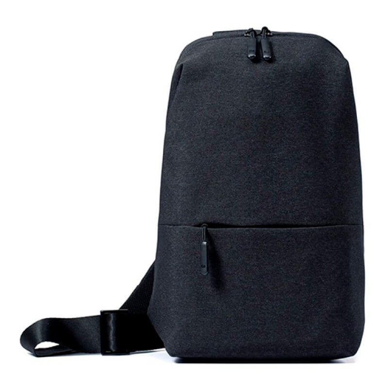 "Mochila Xiaomi Mi City Sling Bag 9"" Dark Grey"