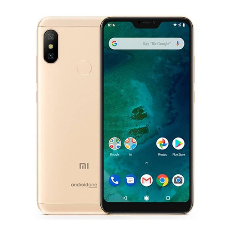 Xiaomi Mi A2 Lite 3GB/32GB Dual Sim - Dourado