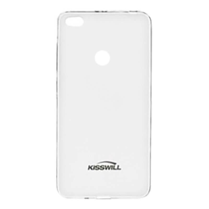 Capa silicone Kisswill Xiaomi Note 5A Prime - Transparente