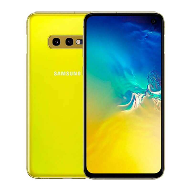 Samsung Galaxy S10e G970 6GB/128GB Dual Sim  - Amarelo Néon