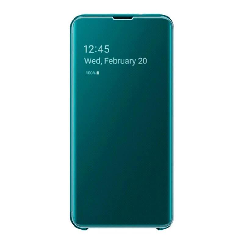 Clear View Cover Samsung Galaxy S10e G970 - Verde
