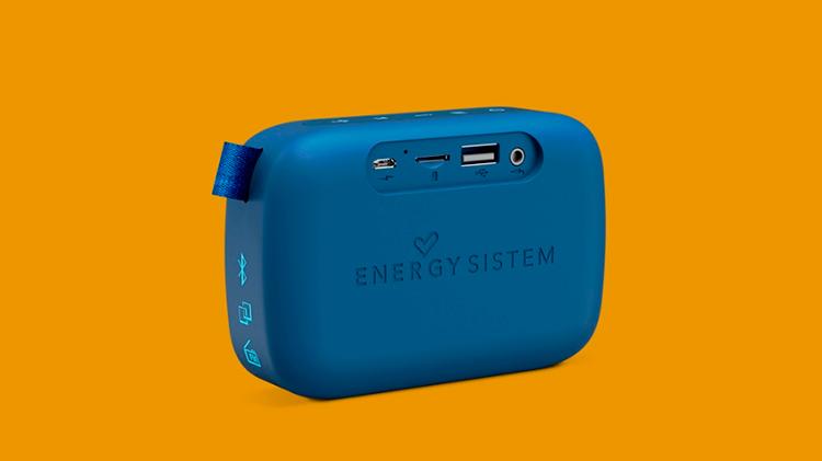 COLUNA BLUETOOTH ENERGY FABRIC BOX 1 POCKET