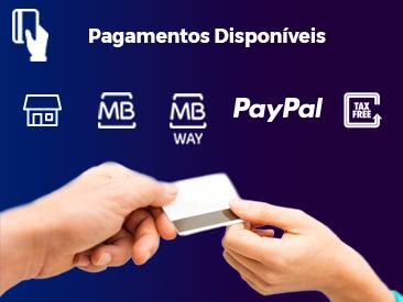 Pagamentos Disponíveis