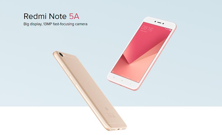 Xiaomi redmi note 5a 2gb16gb dual sim gold redminote5 stopboris Images