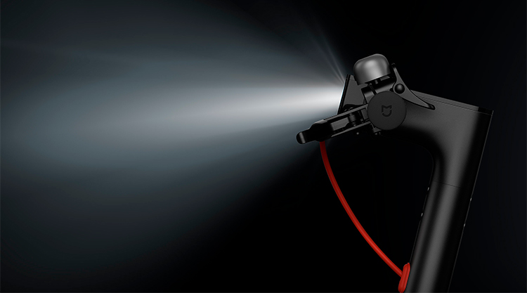 XIAOMI MI ELECTRIC SCOOTER_luzes