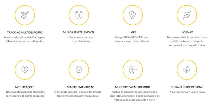 SmartWatch xiaomi Amazfit Stratos 2S - varios