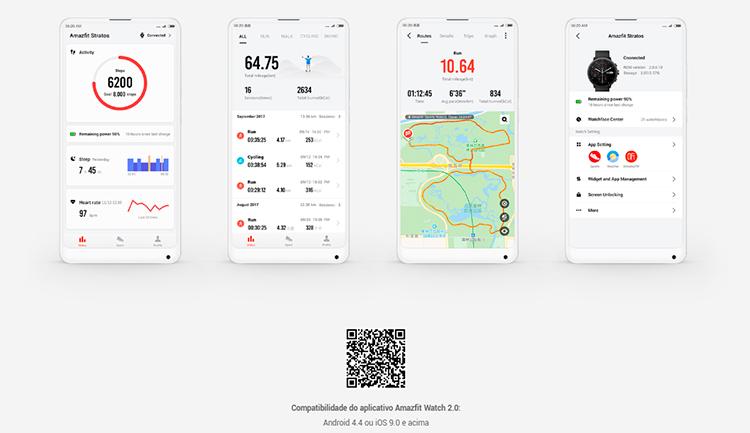 SmartWatch xiaomi Amazfit Stratos 2S - APP