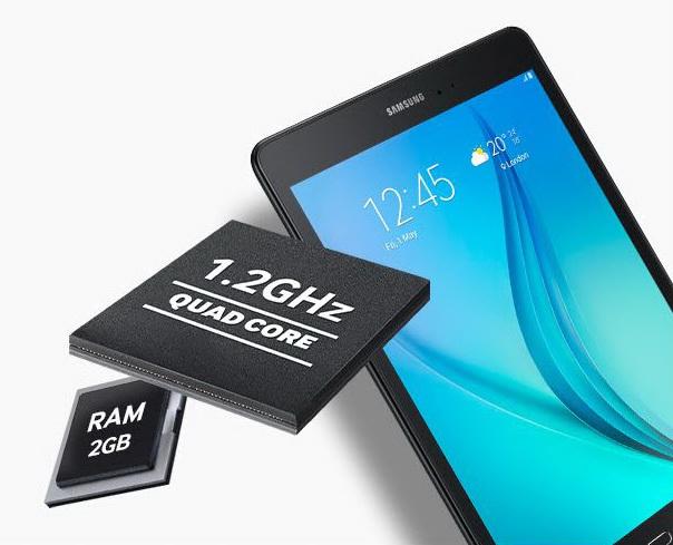 Samsung Galaxy Tab A 16GB SM-T555 4G Branco (Sandy White) - Livre