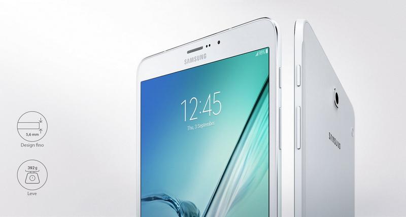 """Samsung Galaxy Tab S2 32GB 9,7"""" Branco - SMT810"""