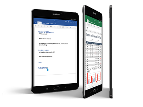 "Samsung Galaxy Tab E 9.6"" 16 GB WIFI T-560 Preto"